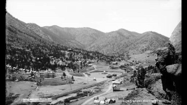 Green Mountain Falls historic