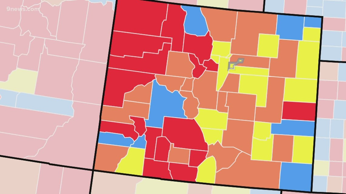 Denver County now at 'substantial' risk of COVID transmission