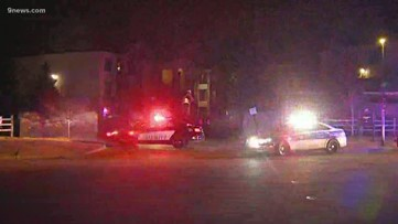 Car theft suspect shot in Arapahoe County, another suspect still on the run