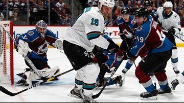 Sharks have a 2-1 lead heading into Game 4 against the Avalanche