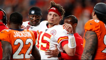 Not ready for primetime: Broncos embarrassed at home by Chiefs, who lose Mahomes to injury