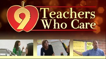 Nominate a teacher for 9Teacher Who Care award