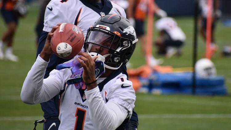 Broncos' KJ Hamler placed in COVID-19 protocols