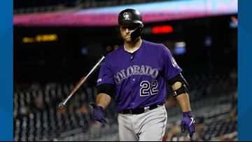 Rockies designate Chris Iannetta for assignment, make other roster moves