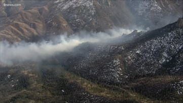 Jefferson County wildfire grows to 50 acres