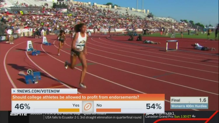 Should college athletes be allowed to profit from endorsements?