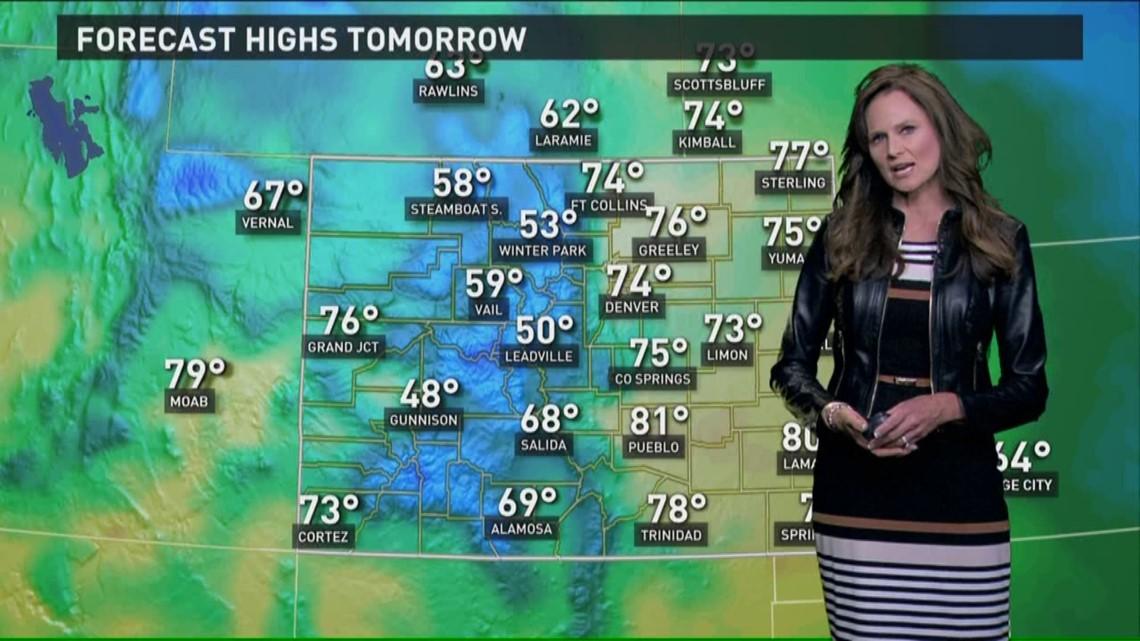 Gas Prices In Colorado >> Denver weather forecast | 9news.com