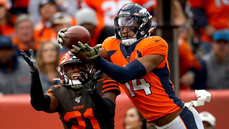 APTOPIX Browns Broncos Football