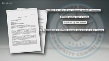 Aurora officer found drunk, unresponsive in unmarked patrol car never charged with DUI