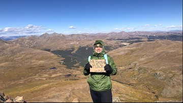 Woman wants to thank stranger who helped her summit 14er by giving her his gloves