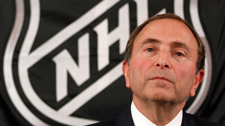 Bettman casts doubt on NHL players going to Beijing Olympics