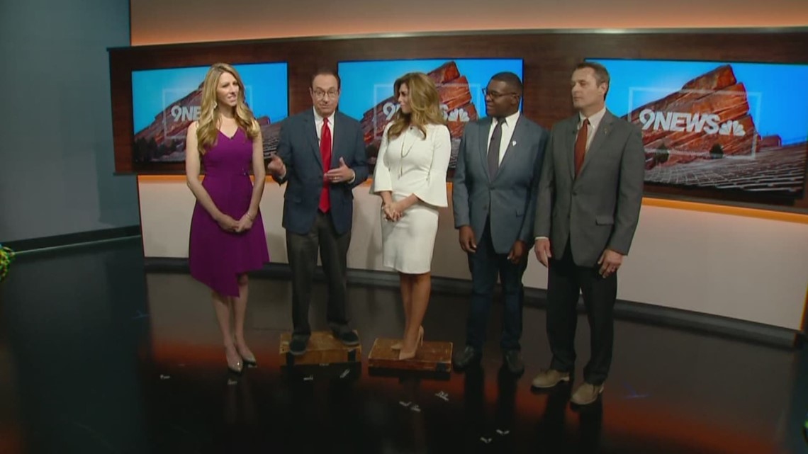 Behind the scenes: How tall are the 9NEWS anchors? | 9news.com