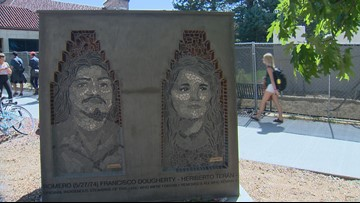 Los Seis de Boulder sculpture commemorates 6 people killed in car bombings in the 70s