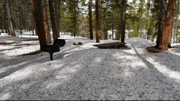Snow will force some Colorado campgrounds to stay closed