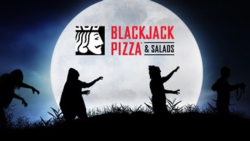 Blackjack Pizza Halloween Costume Sweepstakes