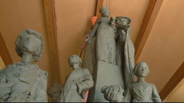 A local woman's monument may soon be displayed in Washington, D.C.