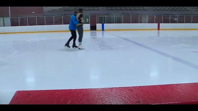 Ice skating with Rob Proctor