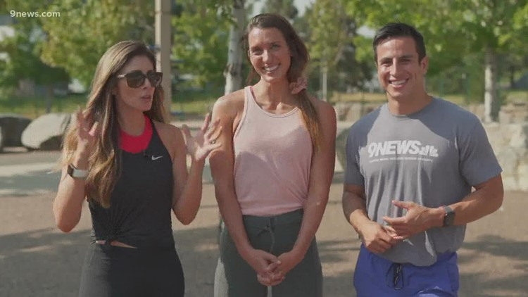 Check out this workout challenge outside Empower Field