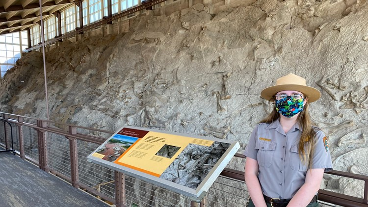 Dinosaur National Monument's Quarry Exhibit Hall to reopen with reservation system