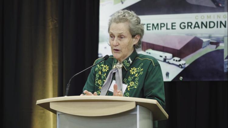 Temple Grandin Equine Center GRoundbreaking