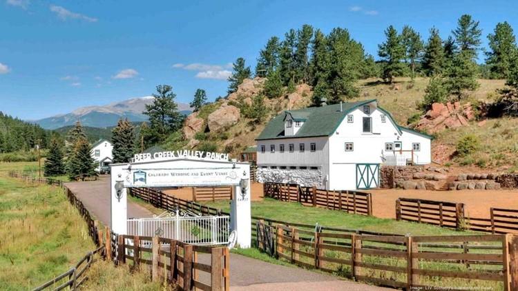 165-acre Colorado ranch with popular wedding venue hits market for $11.5M