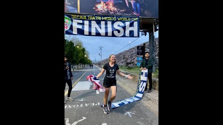 Laura Finishing