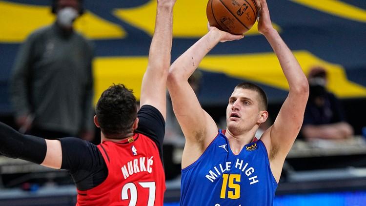 Nikola Jokić named first league MVP in Nuggets history
