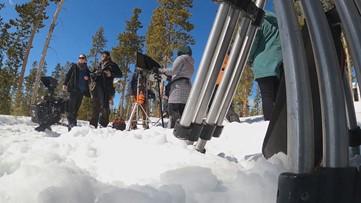 Film crews shooting thriller 'Red Winter' in Colorado