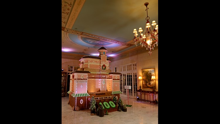 Gingerbread house Broadmoor