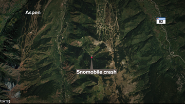 Snowmobiler dies after crash in Pitkin County