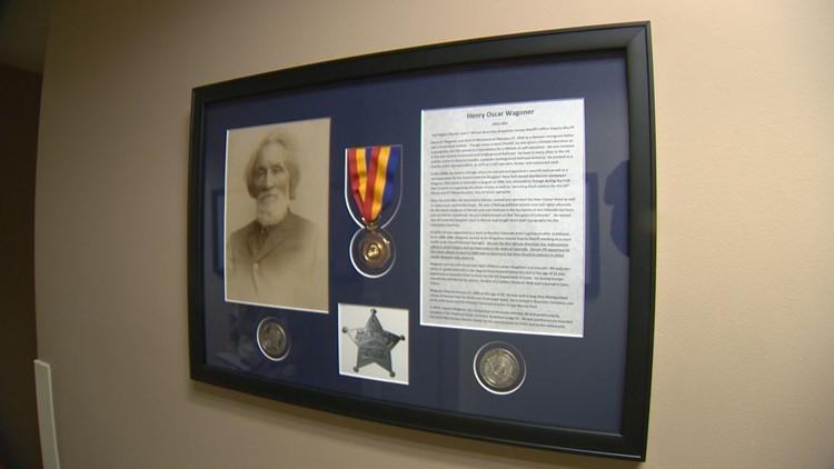 Deputy Henry Wagoner honored