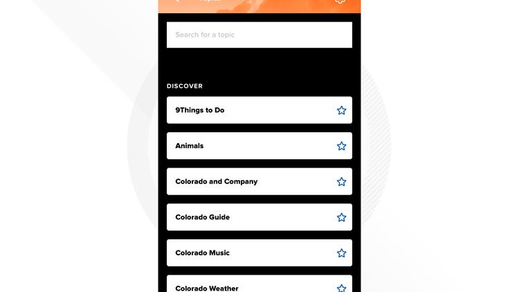 App topics