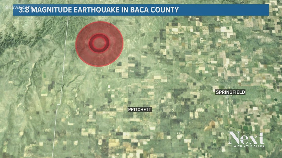 Seismologists aren't sure what caused this southeast Colorado earthquake