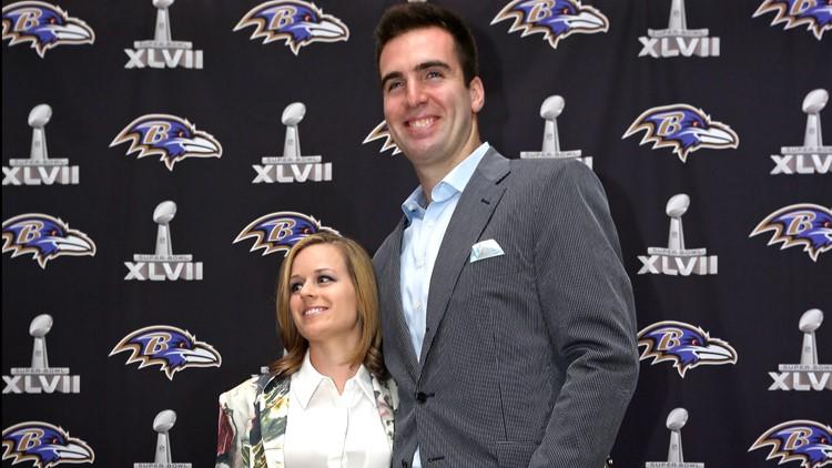 Ravens Football Joe Flacco wife Dana