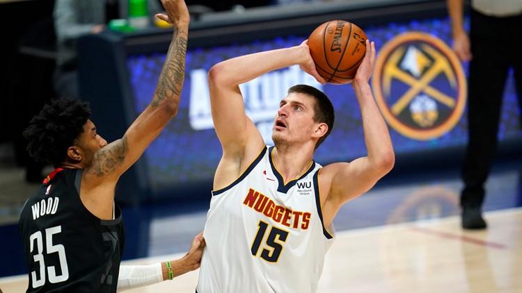Nuggets center Nikola Jokic named starter for 2021 NBA All-Star Game