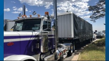 After fiery crash, CDOT educating truckers about runaway truck ramps, overheated brakes