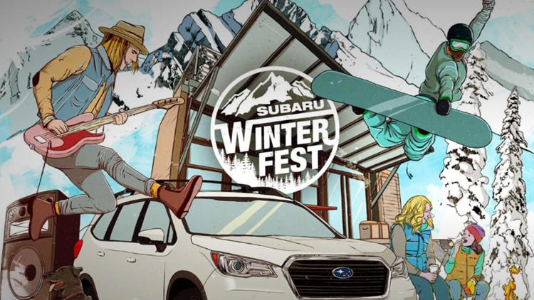 Subaru WinterFest 2019