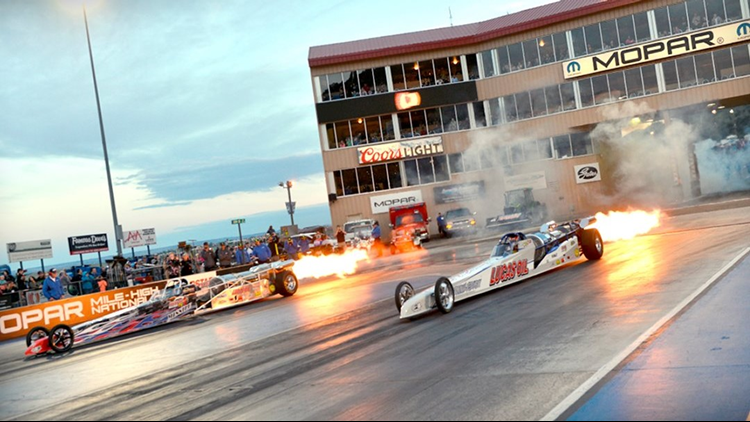NAPA Night of Fire and Thunder — Morrison Bandimere Speedway