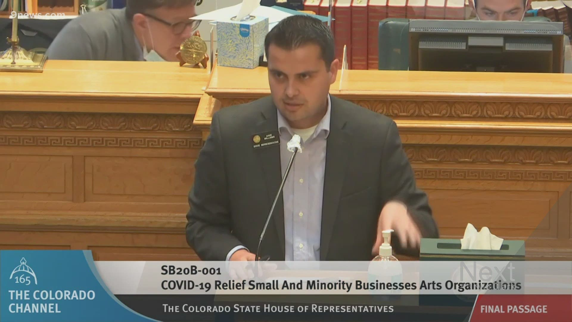 Covid Relief Bill Tied To Health Order Compliance Gets An Update 9news Com