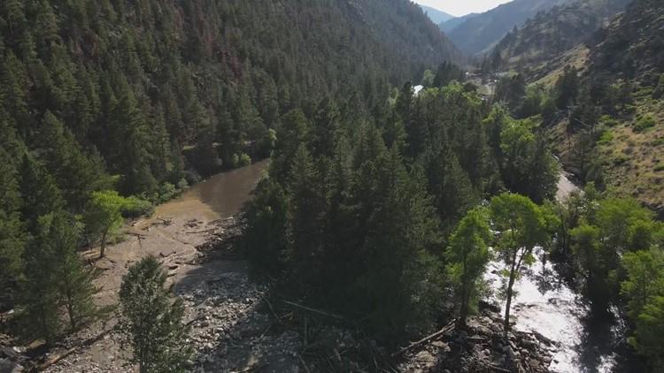 Pronóstico local: Seguirá el riesgo de inundaciones repentinas en las montañas