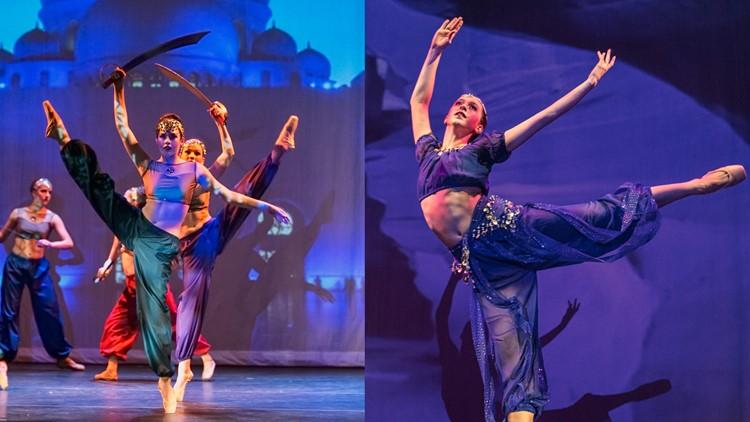 Danse Etoile's Arabian Nights