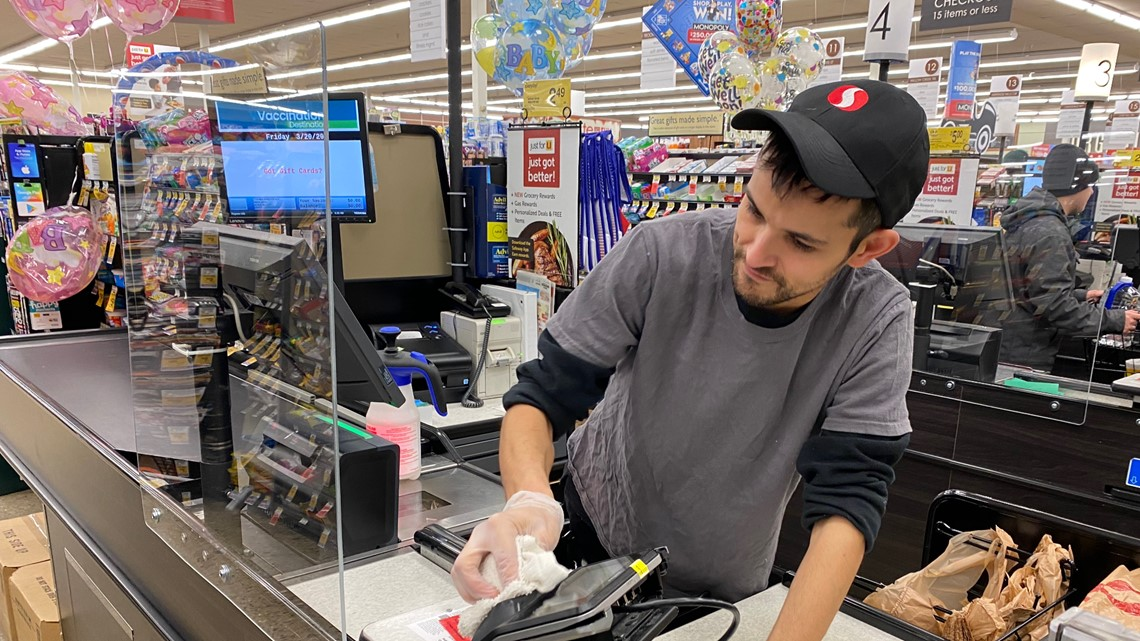 Gas Prices In Colorado >> Safeway stores add 'sneeze guards' to checkout counters | 9news.com