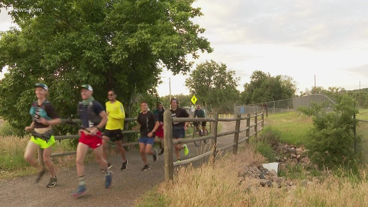 2 men attempt to run the Colorado Trail from Denver to Durango