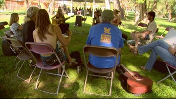 'Planet Bluegrass' Song School brings songwriting and creativity together during Rocky Mountain Folks Festival