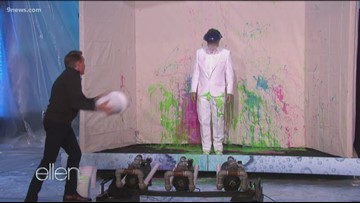 Spangler Science (on Ellen!): Slime!