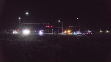 Driver shot by officer after chase near Evans