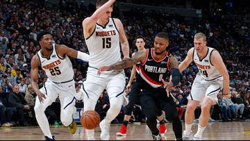 Jokic and the Nuggets host Portland with 1-0 series lead