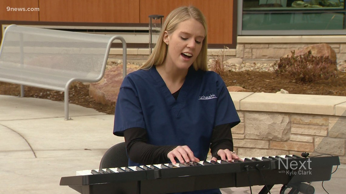 ICU nurse tries to share her COVID experience through song