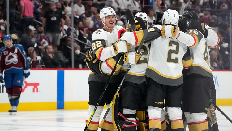 Golden Knights stun Avalanche in OT to take series lead