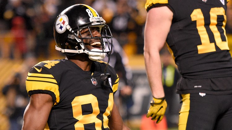 ec3737555f6 Raiders acquire WR Antonio Brown from Steelers